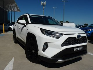 2020 Toyota RAV4 Axah52R Cruiser 2WD Glacier White 6 Speed Constant Variable Wagon Hybrid