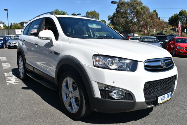 Used Holden Captiva CG MY13 7 AWD LX Wantirna South, 2013 Holden Captiva CG MY13 7 AWD LX White 6 Speed Sports Automatic Wagon