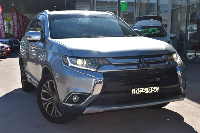 Used Mitsubishi Outlander ZJ MY14.5 LS 2WD Blacktown, 2015 Mitsubishi Outlander ZJ MY14.5 LS 2WD Cool Silver 6 Speed Constant Variable Wagon