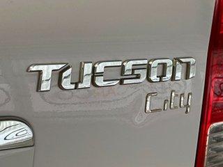 2006 Hyundai Tucson JM City White 4 Speed Sports Automatic Wagon