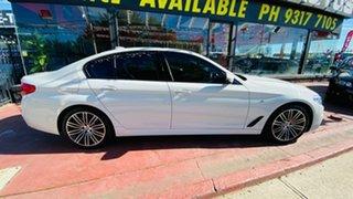 2018 BMW 5 Series G30 520d Steptronic M Sport White 8 Speed Sports Automatic Sedan.