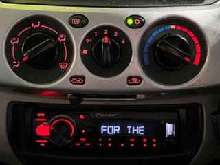 2010 Mitsubishi Triton MN MY10 GLX-R Double Cab Black 5 Speed Sports Automatic Utility