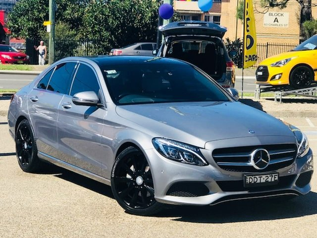 Used Mercedes-Benz C-Class W205 807MY C250 7G-Tronic + Liverpool, 2016 Mercedes-Benz C-Class W205 807MY C250 7G-Tronic + Grey 7 Speed Sports Automatic Sedan