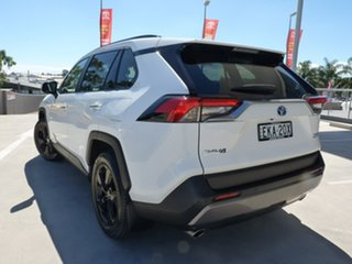 2020 Toyota RAV4 Axah52R Cruiser 2WD Glacier White 6 Speed Constant Variable Wagon Hybrid.