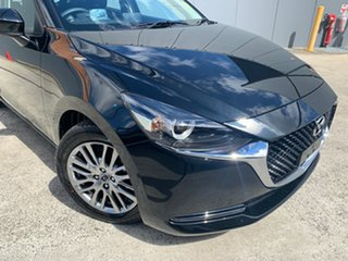 2021 Mazda 2 DJ2HAA G15 SKYACTIV-Drive Evolve Jet Black 6 Speed Sports Automatic Hatchback.