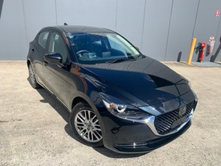 2021 Mazda 2 DJ2HAA G15 SKYACTIV-Drive GT Jet Black 6 Speed Sports Automatic Hatchback