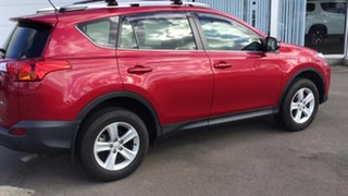 2013 Toyota RAV4 ZSA42R GX 2WD Red 7 Speed Constant Variable Wagon.