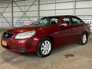 2009 Holden Epica EP MY10 CDX Red 6 Speed Sports Automatic Sedan.
