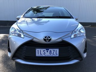 2017 Toyota Yaris NCP130R MY17 Ascent Silver Pearl 4 Speed Automatic Hatchback