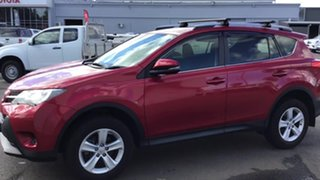 2013 Toyota RAV4 ZSA42R GX 2WD Red 7 Speed Constant Variable Wagon