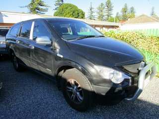 2009 Ssangyong Actyon C100 A200 XDI Black 4 Speed Automatic Wagon