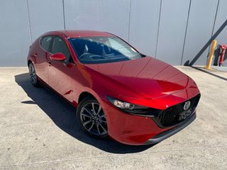 2021 Mazda 3 BP2H7A G20 SKYACTIV-Drive Evolve Soul Red Crystal 6 Speed Sports Automatic Hatchback.