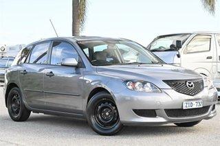 2004 Mazda 3 BK10F1 Neo Grey Sports Automatic Hatchback.