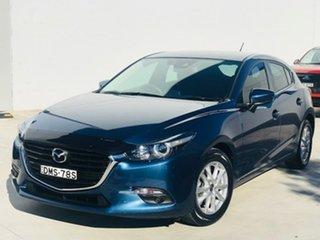 2017 Mazda 3 BN5478 Touring SKYACTIV-Drive Blue 6 Speed Sports Automatic Hatchback.