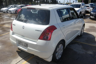 2009 Suzuki Swift RS415 White 5 Speed Manual Hatchback
