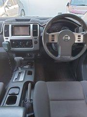 2011 Nissan Navara D40 ST Blue 5 Speed Automatic Utility