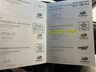 2013 Subaru XV MY13 2.0I Orange 6 Speed Manual Wagon