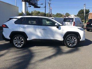 2020 Toyota RAV4 Mxaa52R Cruiser 2WD Glacier White 10 Speed Constant Variable Wagon