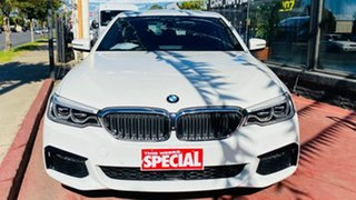 2018 BMW 5 Series G30 520d Steptronic M Sport White 8 Speed Sports Automatic Sedan