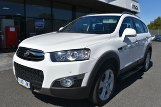 2013 Holden Captiva CG MY13 7 AWD LX White 6 Speed Sports Automatic Wagon.