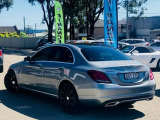 2016 Mercedes-Benz C-Class W205 807MY C250 7G-Tronic + Grey 7 Speed Sports Automatic Sedan.