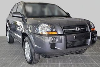 2007 Hyundai Tucson JM MY07 City SX Grey 4 Speed Sports Automatic Wagon.