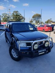 2011 Nissan Navara D40 ST Blue 5 Speed Automatic Utility.