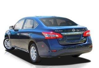 2013 Nissan Pulsar B17 ST Blue 6 Speed Manual Sedan.