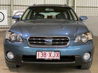 2007 Subaru Outback B4A MY07 R AWD Premium Pack Blue 5 Speed Sports Automatic Wagon