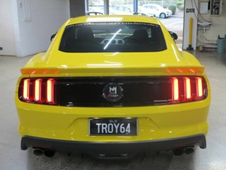 2016 Ford Mustang FM GT Fastback Yellow 6 Speed Manual Fastback