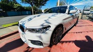 2018 BMW 5 Series G30 530d Steptronic M Sport White 8 Speed Sports Automatic Sedan