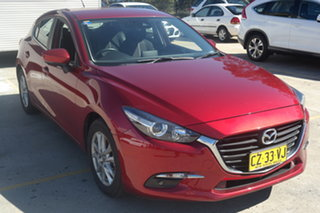 2018 Mazda 3 BN5478 Maxx SKYACTIV-Drive Sport Soul Red 6 Speed Sports Automatic Hatchback.