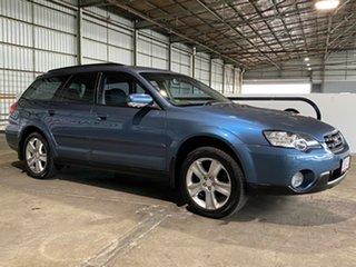 2007 Subaru Outback B4A MY07 R AWD Premium Pack Blue 5 Speed Sports Automatic Wagon.