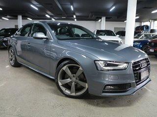2015 Audi A4 B8 8K MY15 S Line S Tronic Quattro Grey 7 Speed Sports Automatic Dual Clutch Sedan.