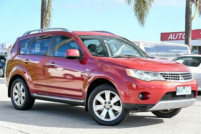 Used Mitsubishi Outlander ZG Olympic Edition Cheltenham, 2008 Mitsubishi Outlander ZG Olympic Edition Red Sports Automatic Wagon