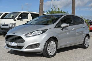 2013 Ford Fiesta WZ Ambiente Silver 6 Speed Sports Automatic Dual Clutch Hatchback