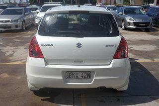 2009 Suzuki Swift RS415 White 5 Speed Manual Hatchback