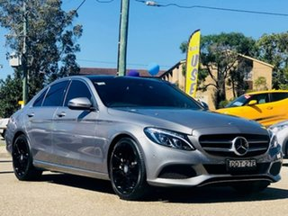 2016 Mercedes-Benz C-Class W205 807MY C250 7G-Tronic + Grey 7 Speed Sports Automatic Sedan