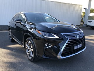 2016 Lexus RX350 GGL25R MY17 Luxury Black 8 Speed Automatic Wagon.