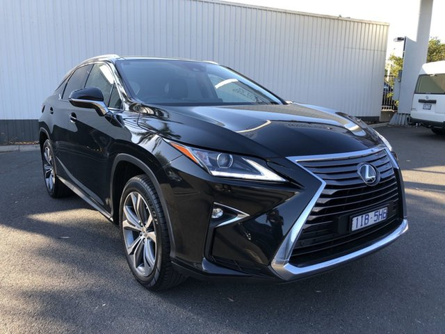 Pre-Owned Lexus RX350 GGL25R MY17 Luxury Oakleigh, 2016 Lexus RX350 GGL25R MY17 Luxury Black 8 Speed Automatic Wagon