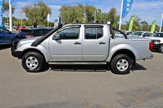 2007 Nissan Navara D40 ST-X Silver 5 Speed Automatic Utility