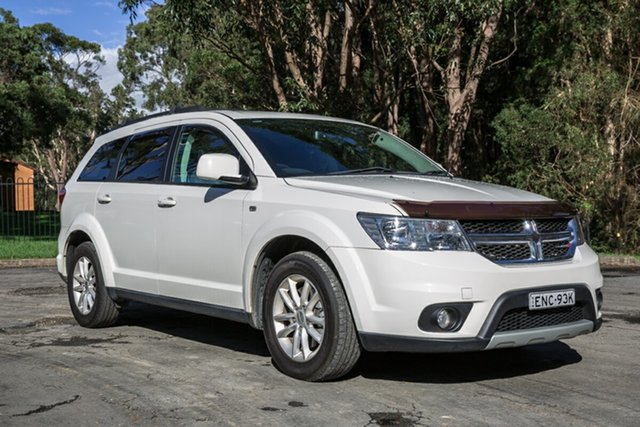Used Dodge Journey JC MY13 SXT Port Macquarie, 2013 Dodge Journey JC MY13 SXT White 6 Speed Automatic Wagon