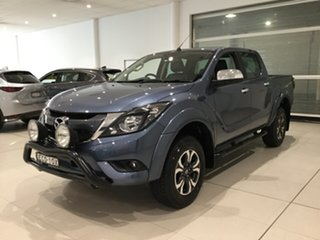 2017 Mazda BT-50 UR0YG1 GT Blue Reflex 6 Speed Sports Automatic Utility