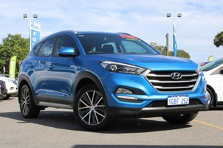 2016 Hyundai Tucson TL MY17 Active X 2WD Blue 6 Speed Manual Wagon.