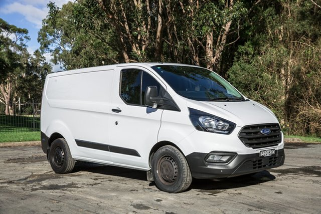 Used Ford Transit Custom VN 2018.75MY 300S (Low Roof) Port Macquarie, 2019 Ford Transit Custom VN 2018.75MY 300S (Low Roof) Frozen White 6 Speed Automatic Van