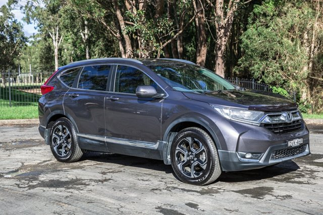 Used Honda CR-V RW MY18 VTi-S FWD Port Macquarie, 2018 Honda CR-V RW MY18 VTi-S FWD Grey 1 Speed Constant Variable Wagon