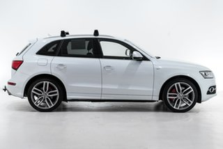 2015 Audi SQ5 8R MY16 TDI Tiptronic Quattro White 8 Speed Sports Automatic Wagon