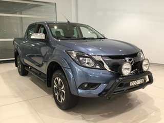 2017 Mazda BT-50 UR0YG1 GT Blue Reflex 6 Speed Sports Automatic Utility.