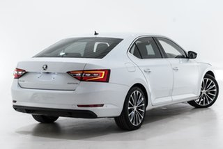 2018 Skoda Superb NP MY18.5 140TDI Sedan DSG White 7 Speed Sports Automatic Dual Clutch Liftback.
