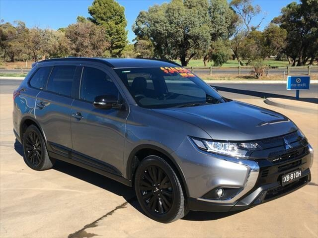 Used Mitsubishi Outlander ZL MY21 Black Edition 2WD Berri, 2020 Mitsubishi Outlander ZL MY21 Black Edition 2WD Titanium 6 Speed Constant Variable Wagon